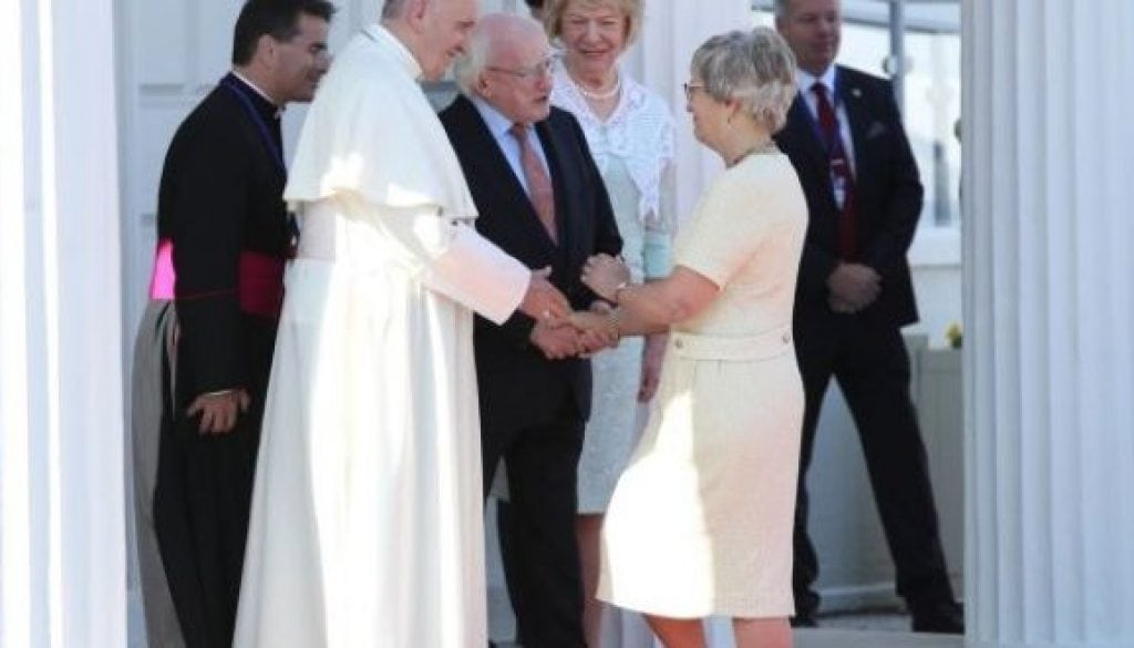 Pope Francis in Ireland