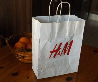 H&M Bag for blog