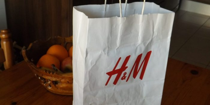 H&M Bag for blog