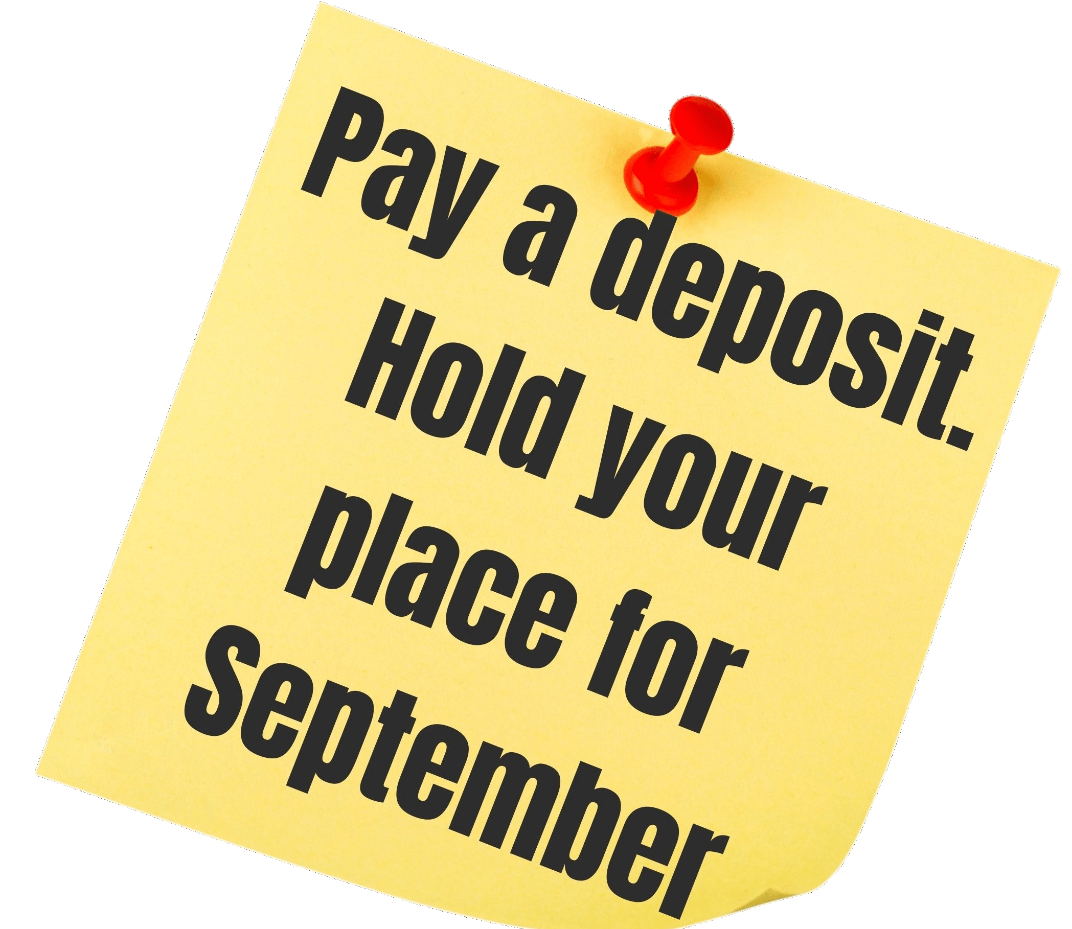 Book Now Deposit